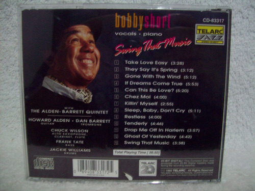 cd bobby short- swing that music- cd importado
