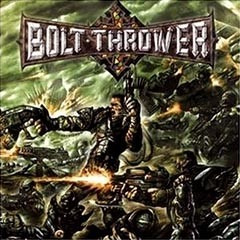 cd bolt thrower - honour, valour, pride