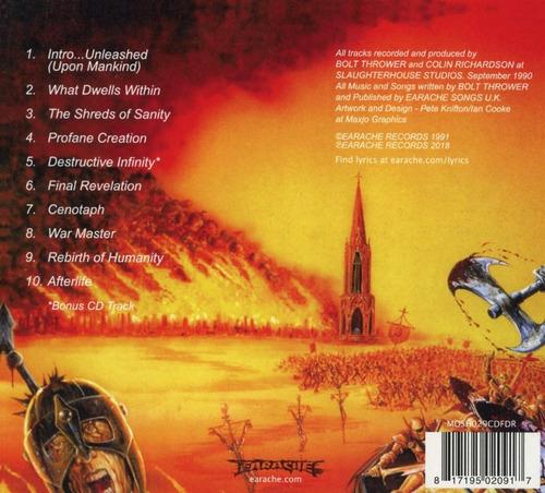 cd : bolt thrower - war master (cd) (0917)