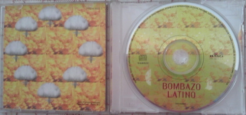 cd bombazo latino - varios interpretes (1998)