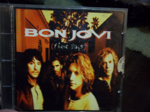 cd bon jovi these days