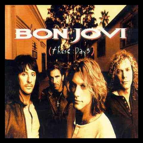 cd  bon  jovi  -  these  days  importado -    b185