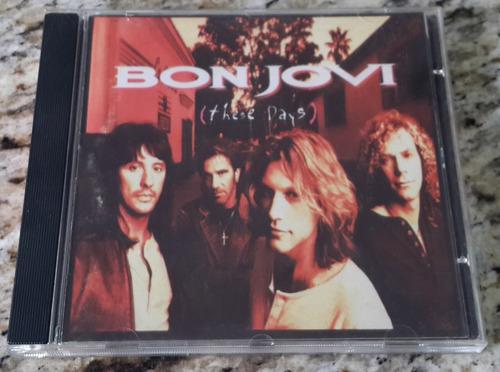 cd bon jovi - these days original