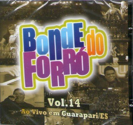 cd bonde do forro - ao vivo em guarapari/es vol 14 - novo***