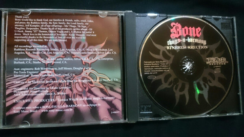 cd bone thugs-n-harmony - btnhresurrection (raríssimo)