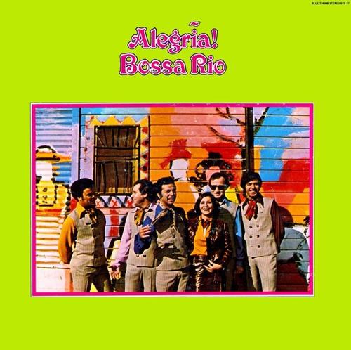 cd bossa rio alegria (1969) lacrado original rio