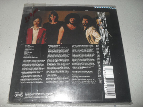 cd - boston  álbum  japonês ( cdlp ) novo