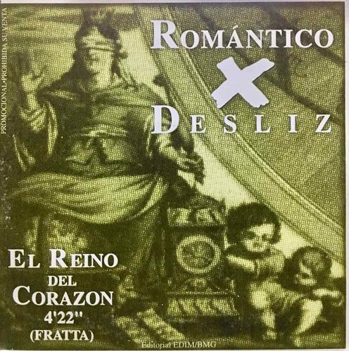 cd botellita de jerez y romantico desliz promo usado