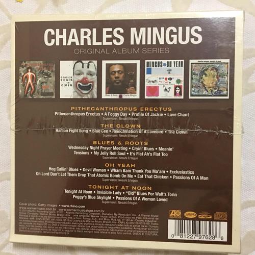 cd box charles mingus original album series 5 cds lacrado