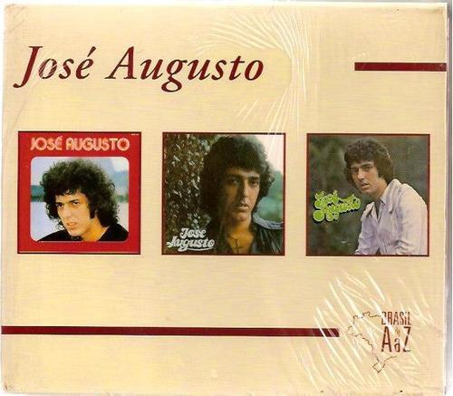 cd box de az jose augusto 2 cd lacrados 1 aberto