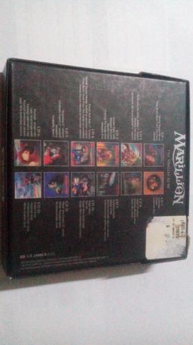 cd box marillion the singles 82 - 88 ( uk )12 picture disc