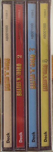 cd box set beatles 'n' choro novo lacrado