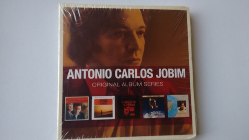 cd box tom jobim original álbum lacrado