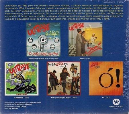 cd box ultraje a rigor - 30 anos (2014) 05 cds - lacrado