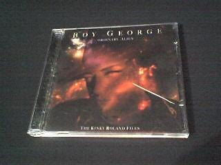 cd boy george  ordinary alien  (original)