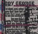cd  boy george  - u can never   - b147