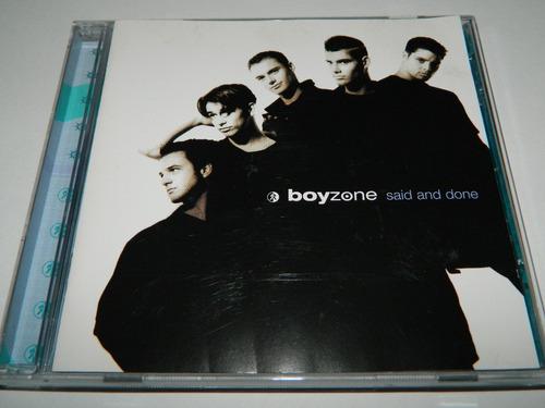 cd boyzone said and done cd album