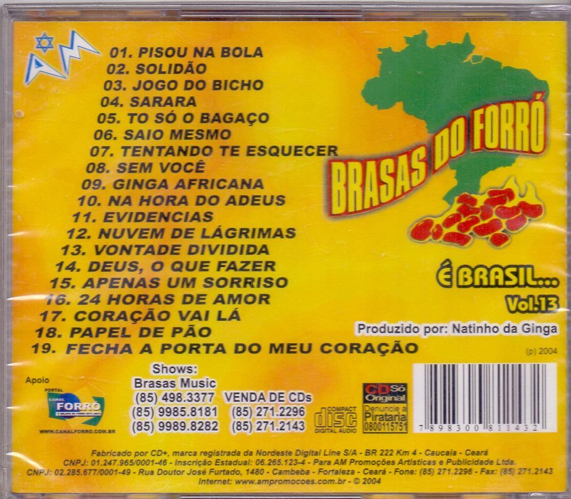 cd brasas do forro vol 4