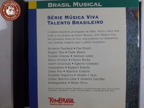cd brasil musical wagner tiso & paulo moura -ganha capa - b8
