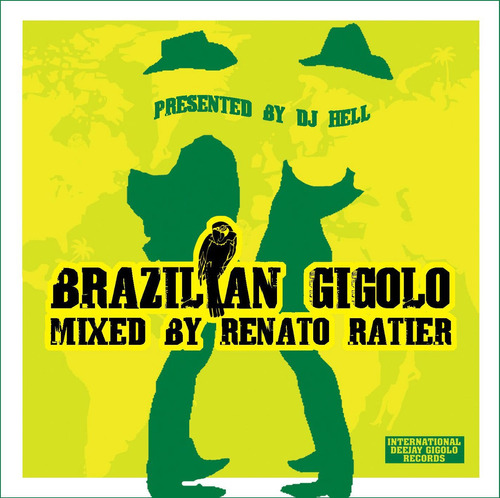 cd brazilian gig. mixed by renato ratier - novo - lacrado