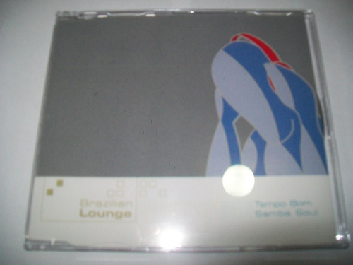 cd brazilian lounge - tempo bom / samba soul* igual novo