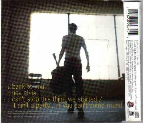 cd brian adams - back to you single importado  frete grátis