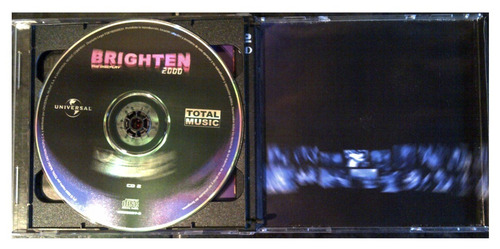 cd - brighten - mix por tony p! - (2 cds) - 2000 - original