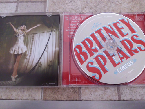 cd britney spears circus