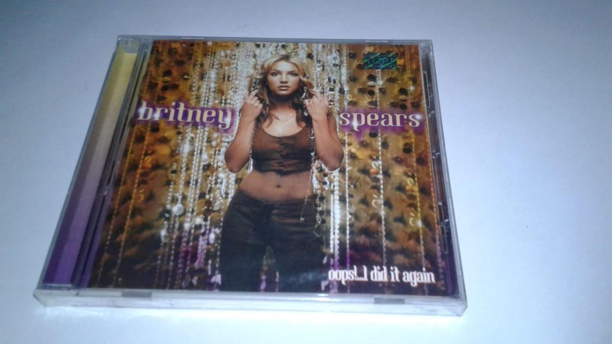 Cd Britney Spears Oops I Did It Again 775 00 En Mercado Libre