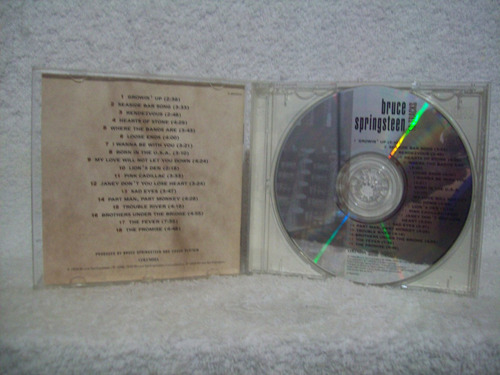 cd bruce springsteen- 18 tracks