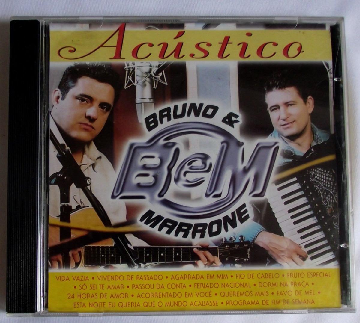 Cd Bruno & Marrone Acústico