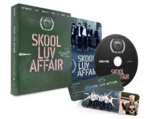 cd : bts - skool luv affair (incl. 115-page photobook and...