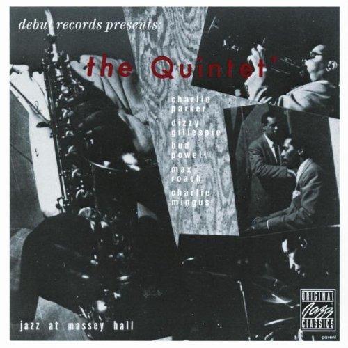 cd bud powell, dizzy gillespie, charlie parker, the quintet,