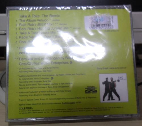 cd c+c music factory take a toke lacrado funk dance raridade