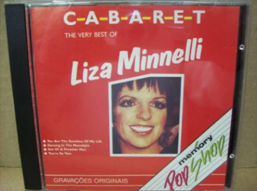 cd - cabaret - the very best liza minnelli