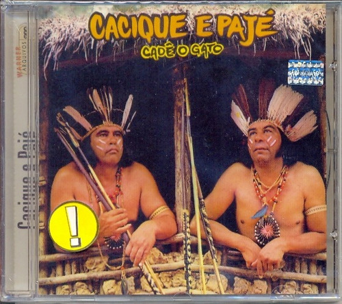 cd cacique e pajé - cadê o gato - 1993 - lacrado bottini_ml