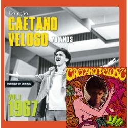cd caetano veloso (1967) vol. 1 da coleção (cd + livro)