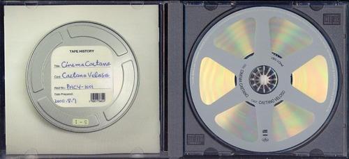 cd caetano veloso - cinema caetano - importado japão