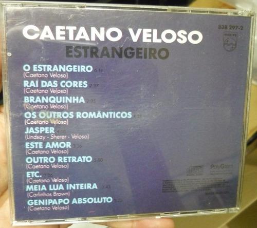 cd   caetano veloso  /  estrangeiro - b313