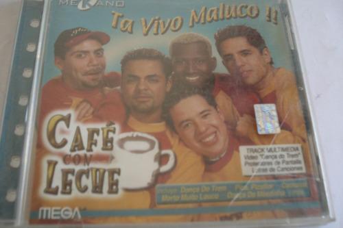 cd cafe con leche ta vivo macuco
