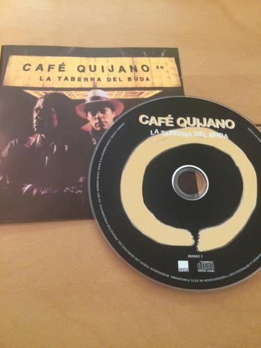cd cafe quijano - la taberna del buda