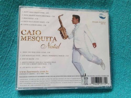 cd caio mesquita natal edição 2006 raro lacrado colecionador