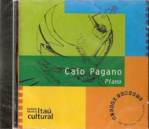 cd caio pagano - piano itau cultural