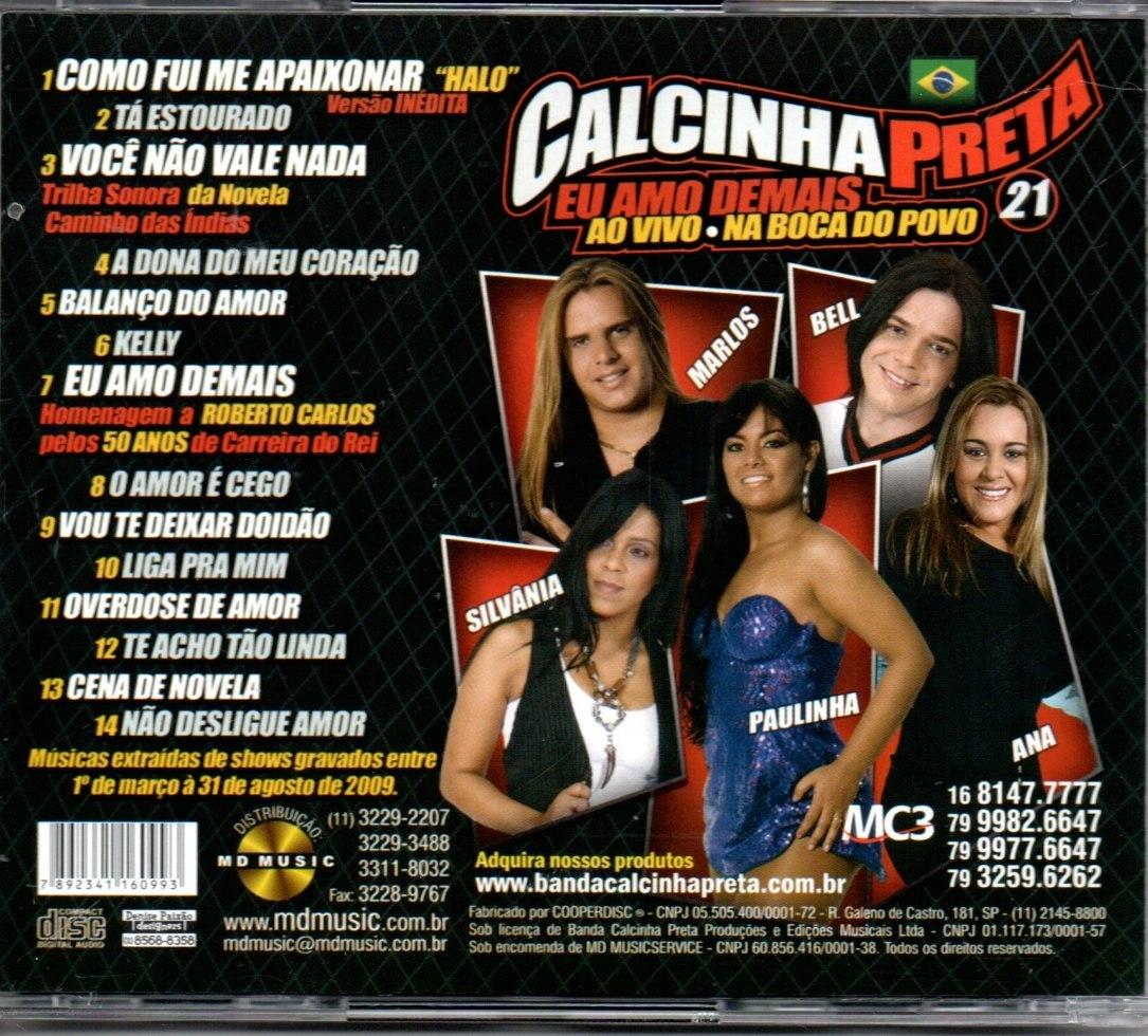cd volume 21 calcinha preta
