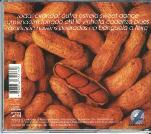 cd cama de gato - amendoim torrado - 1998 - jamil joanes ...