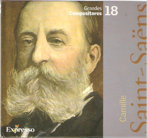 cd camille saint - saëns - serie grandes compositores - 18