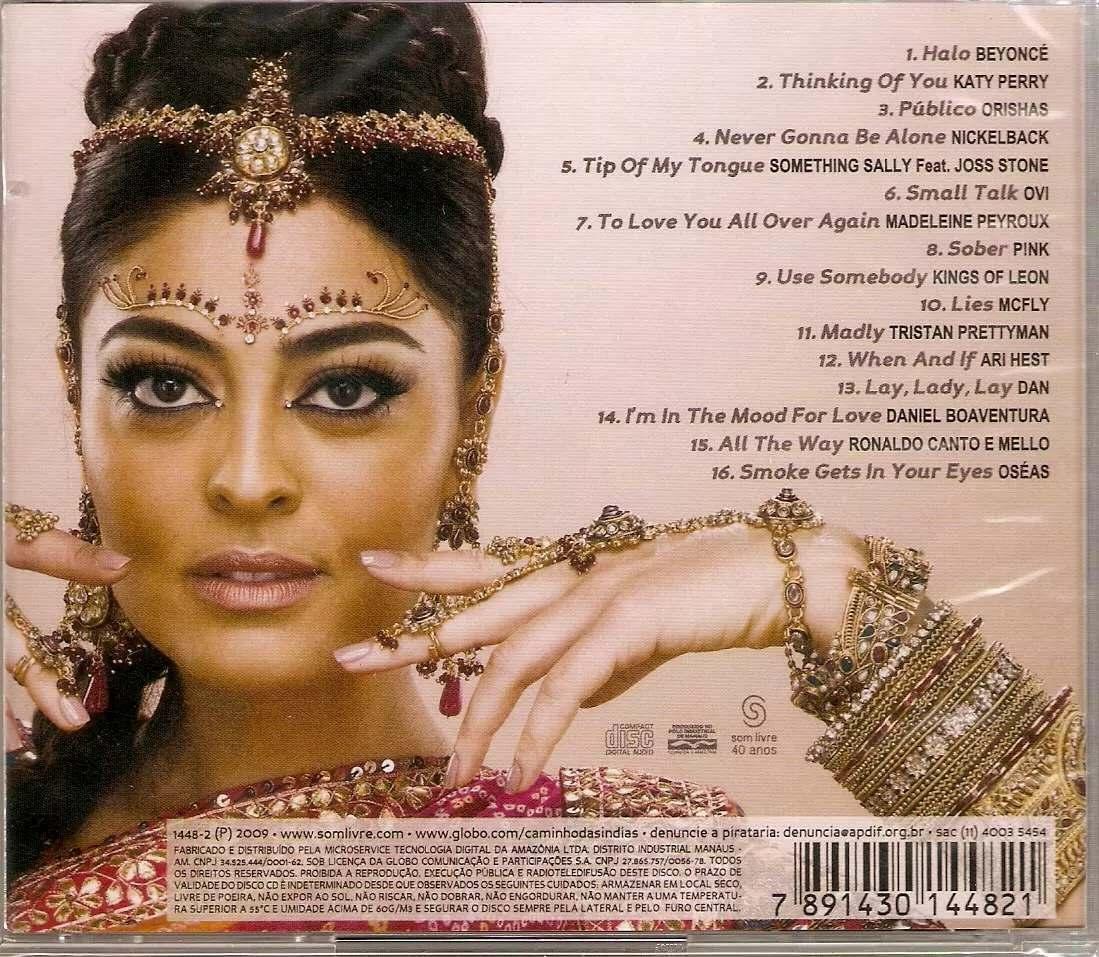 cd trilha sonora caminhos das indias internacional