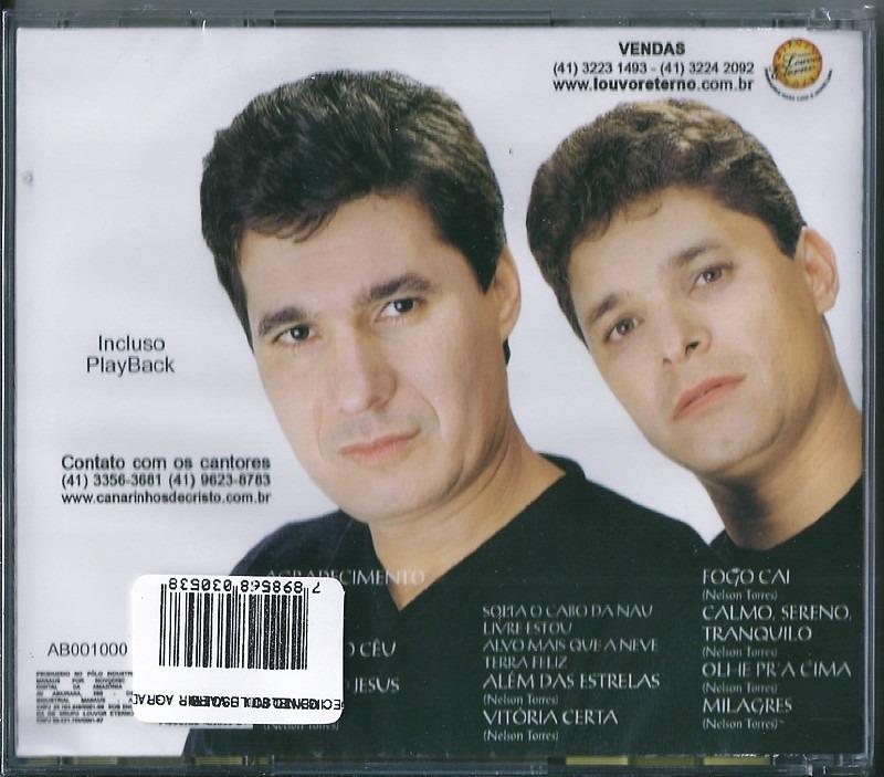 cd canarinhos de cristo agradecimento playback