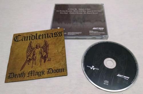 cd candlemass - death magic doom