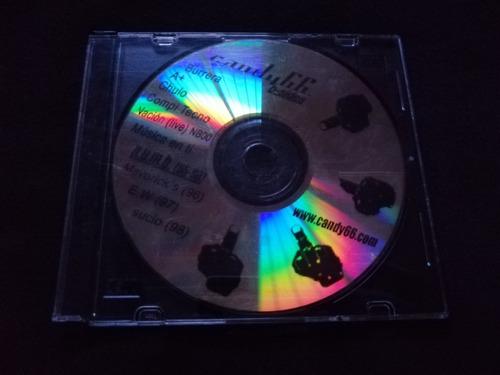 cd candy 66 b-sides rock venezolano colección